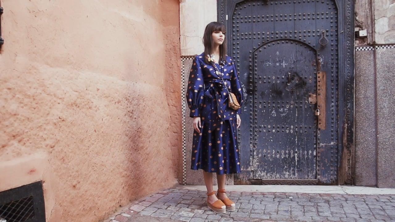 ROMAN Lookbook in Marrakech Bazaar