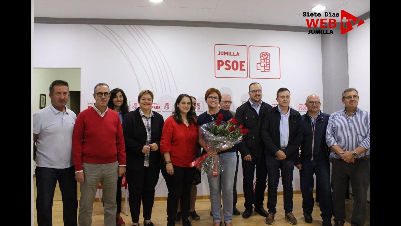 JUANA GUARDIOLA REPITE COMO CANDIDATA A LA ALCALDÍA POR EL PSOE - SIETE DÍAS WEB TV JUMILLA