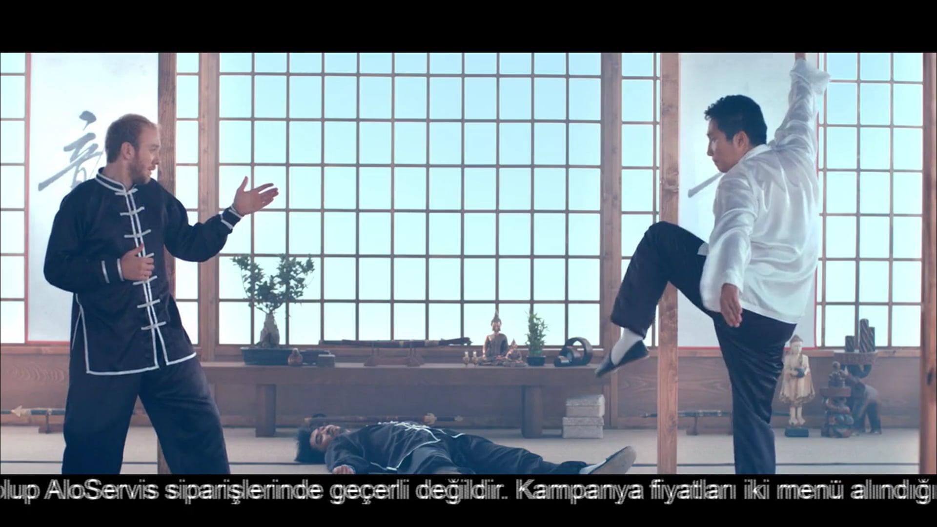Bora Egemen-Mc Donalds Kung Fu:Comedy