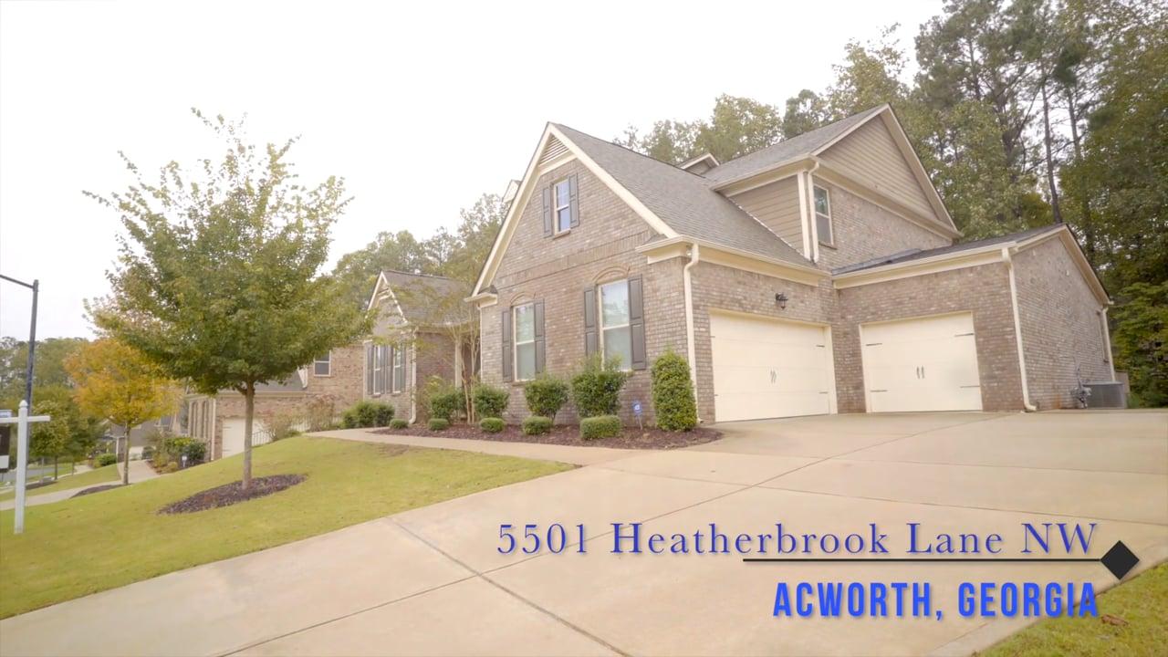 5501 Heatherbrooke Ln NW, Acworth
