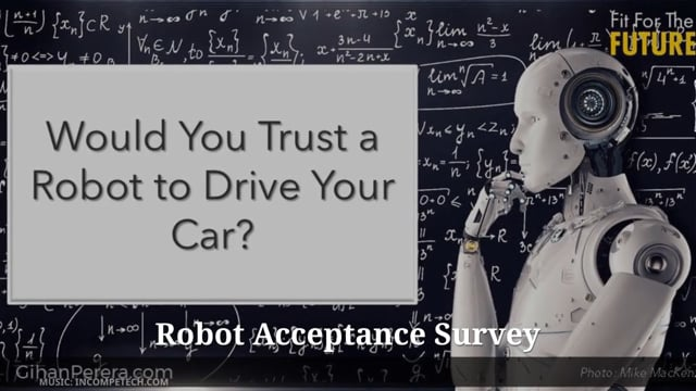 Would You Trust A Robot?