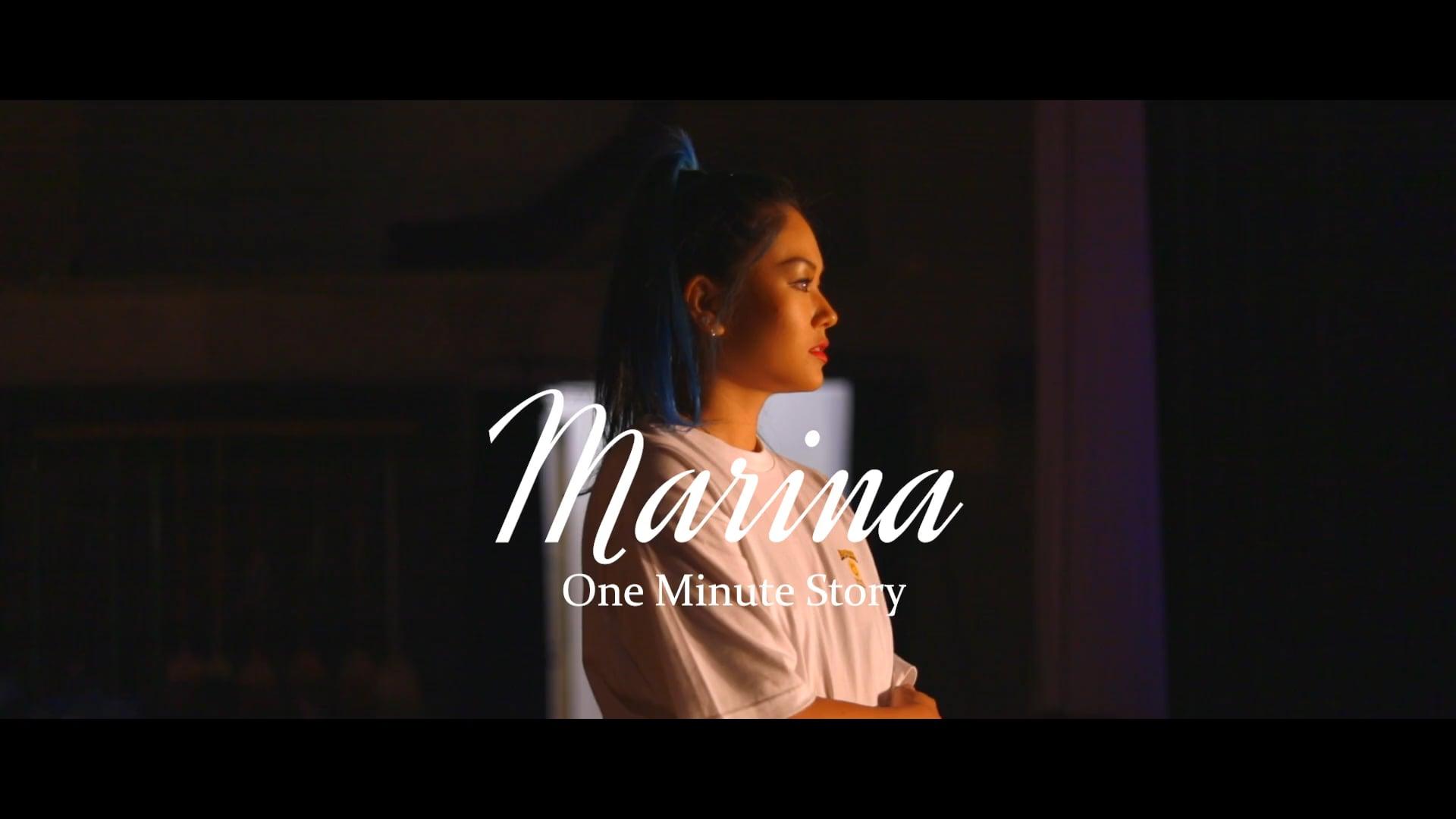 One Minute Story x Marina