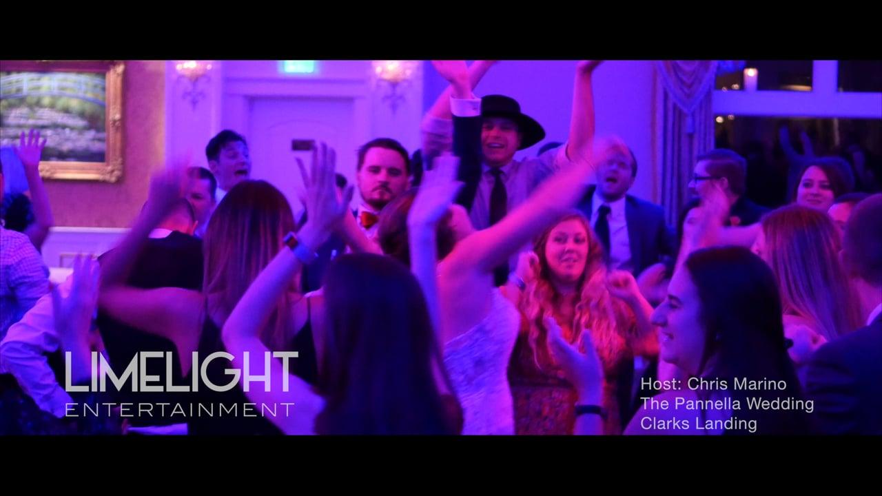 The Pannella Wedding   Clarks Landing   Chris Marino of Limelight Entertainment