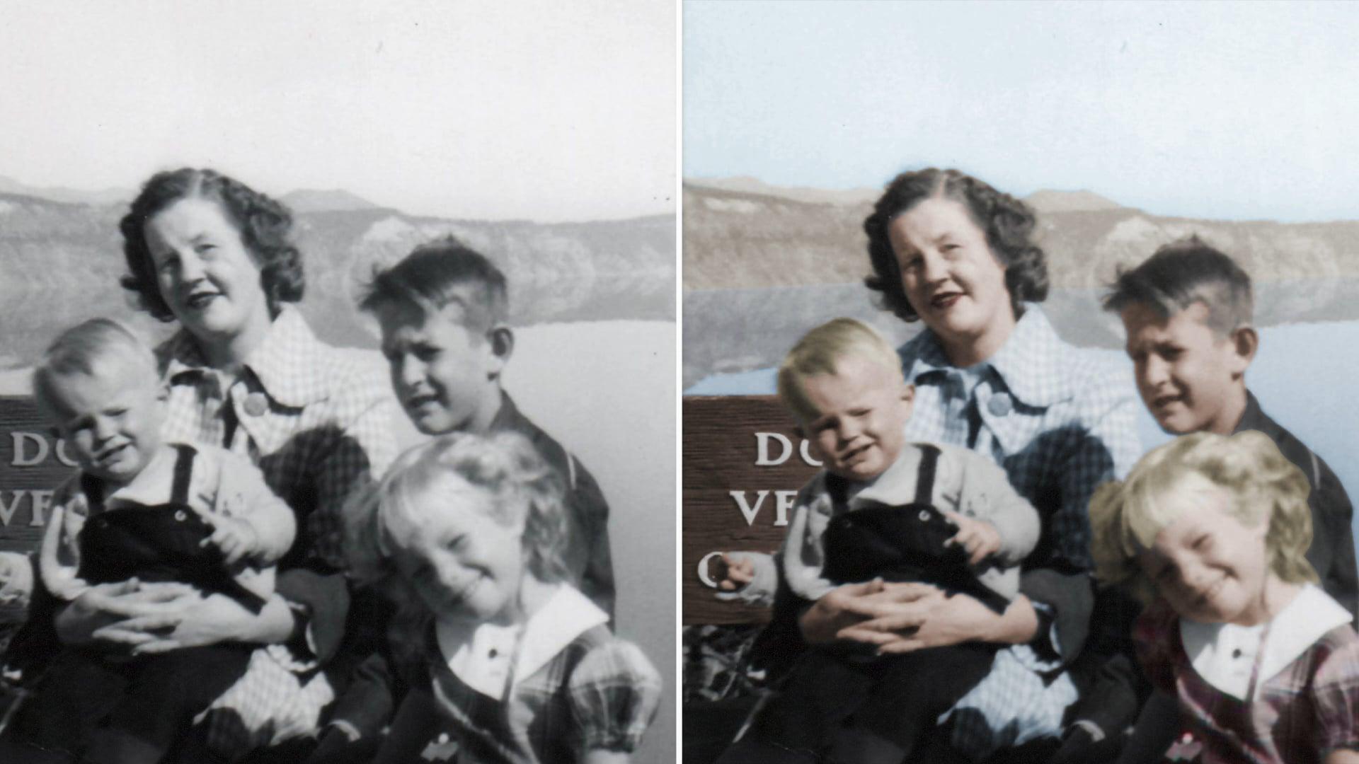 Black and White Photo Colorization