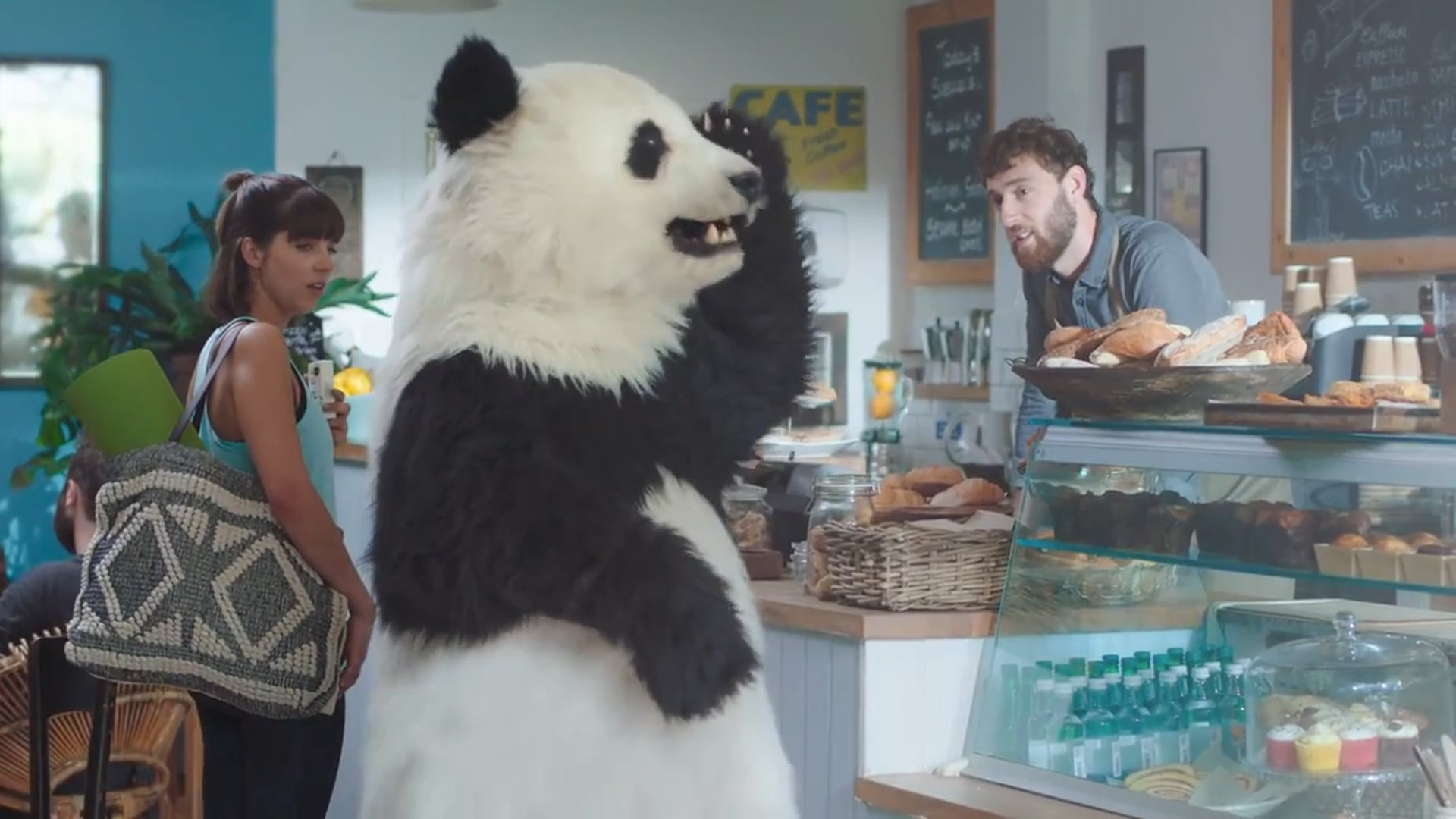Cheeky Panda Colin