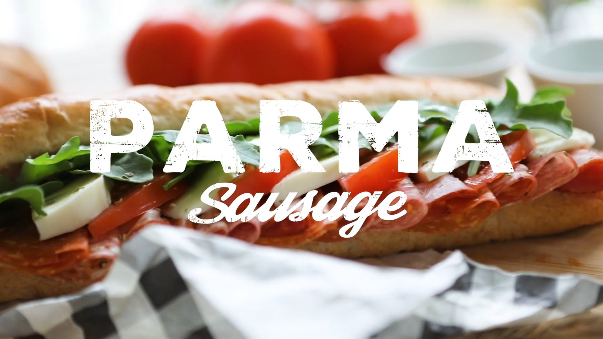 Parma Sausage - Summer Sandwich