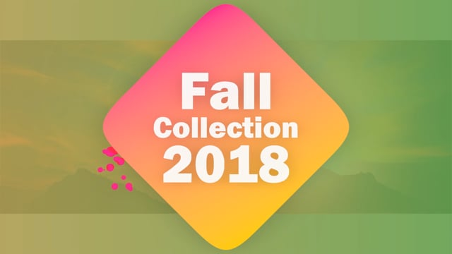 Fall Collection 2018 Product Placement Video for Social Media