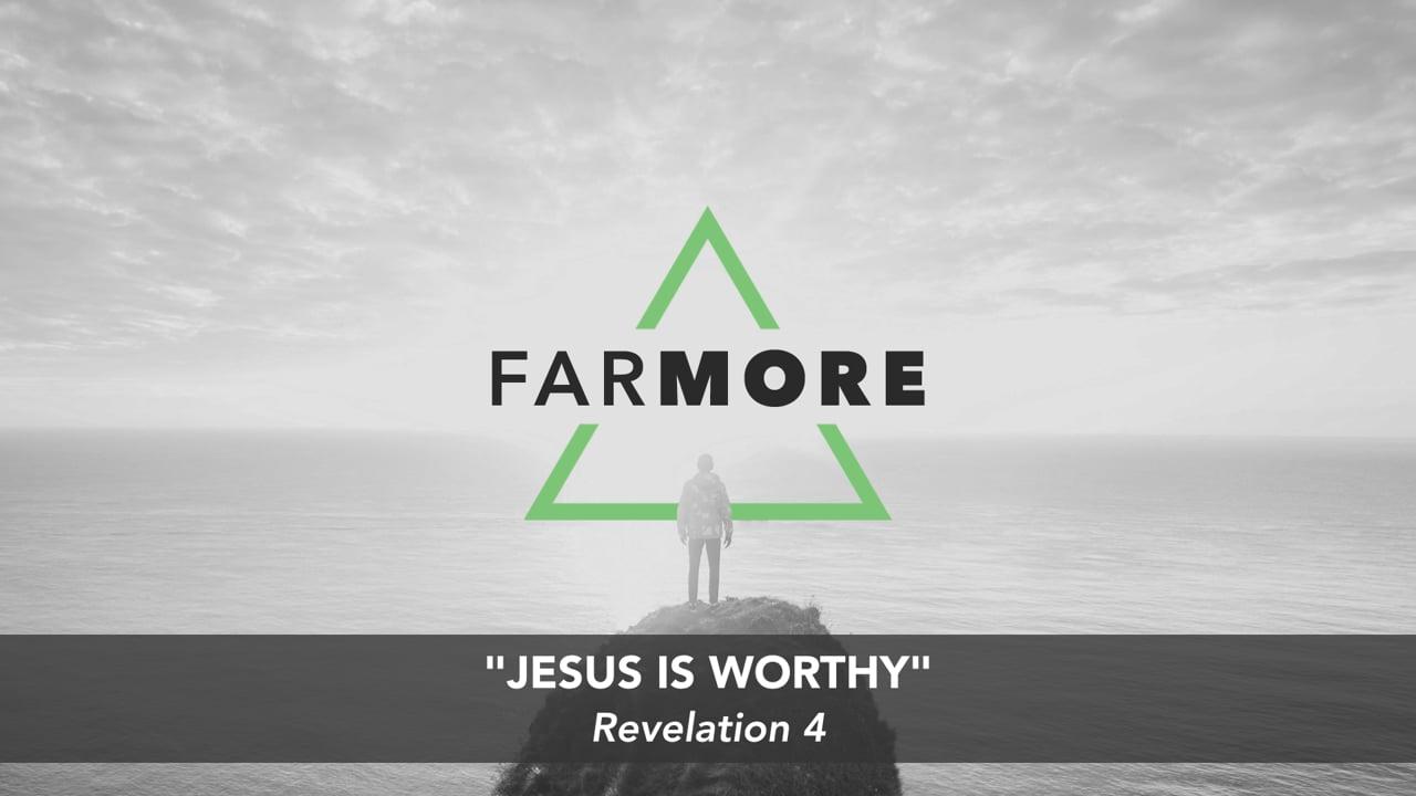 Jesus Is Worthy [Parry Sound]