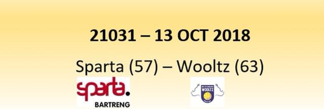 N1D 21031 Sparta (57) - Wiltz (63) 13/10/2018