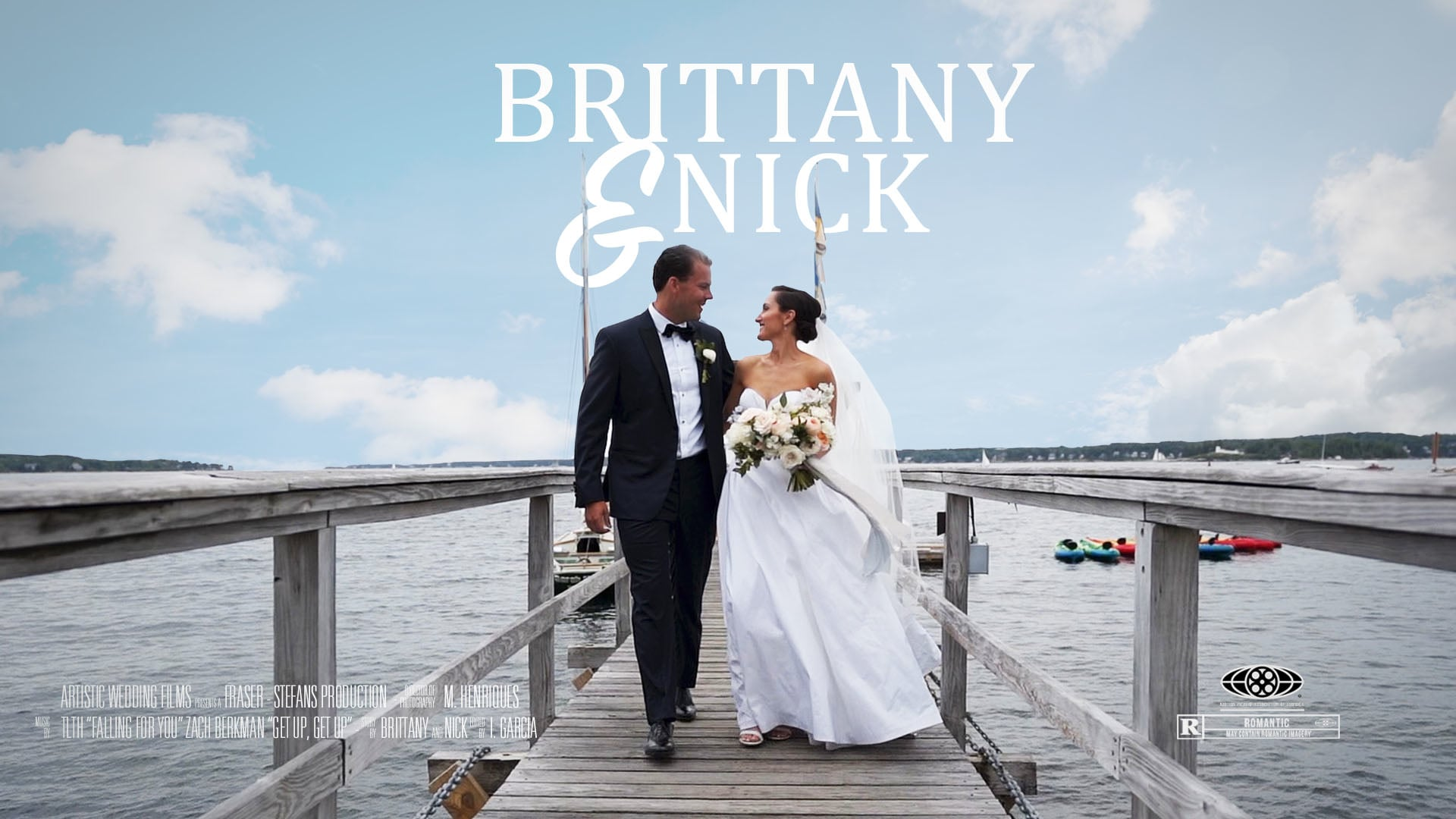 Brittany & Nick's Wedding Highlight Film // Boothbay Harbor // Maine Wedding