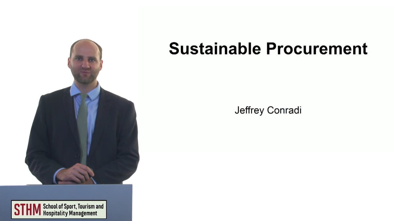 61161Sustainable Procurement