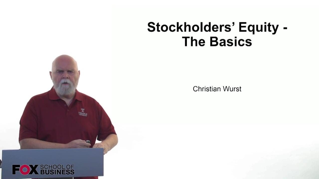 61174Stockholders Equity – The Basics