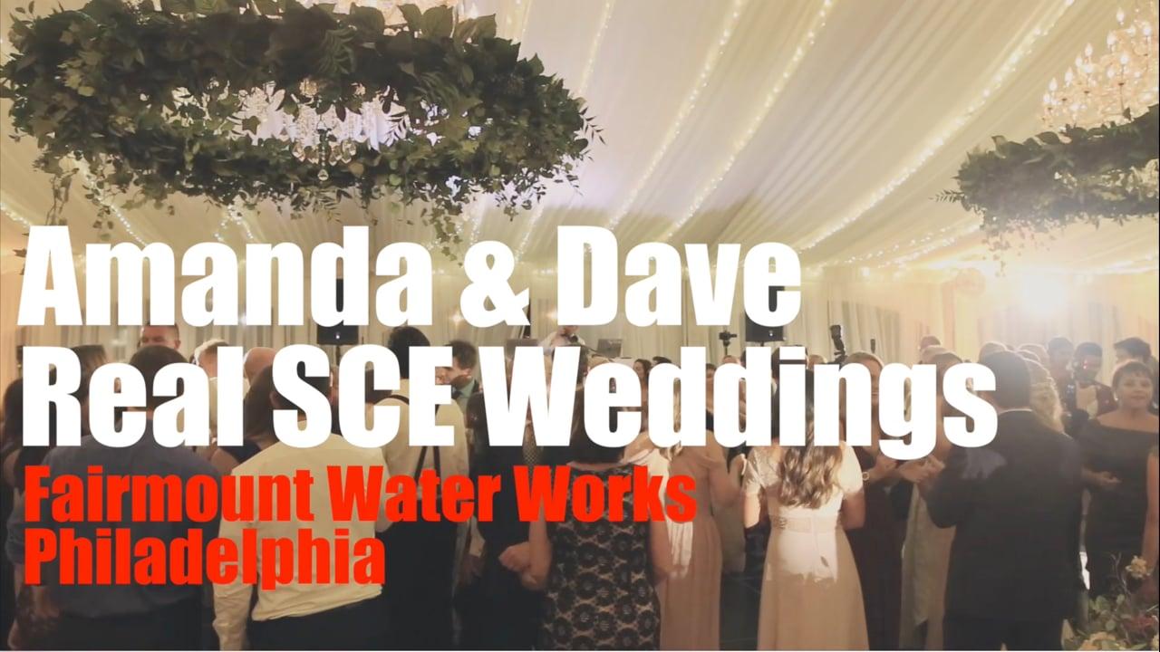 Real SCE Weddings - Amanda & Dave at Waterworks Philadelphia - SCE Event Group - Tony Tee Neto