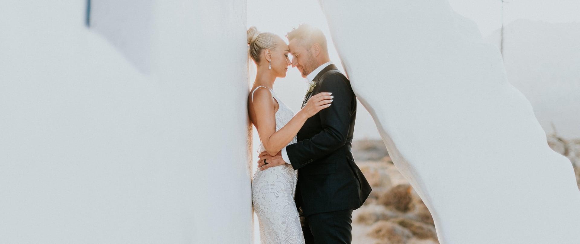 Marina & Nick Wedding Video Filmed at Mykonos, Greece