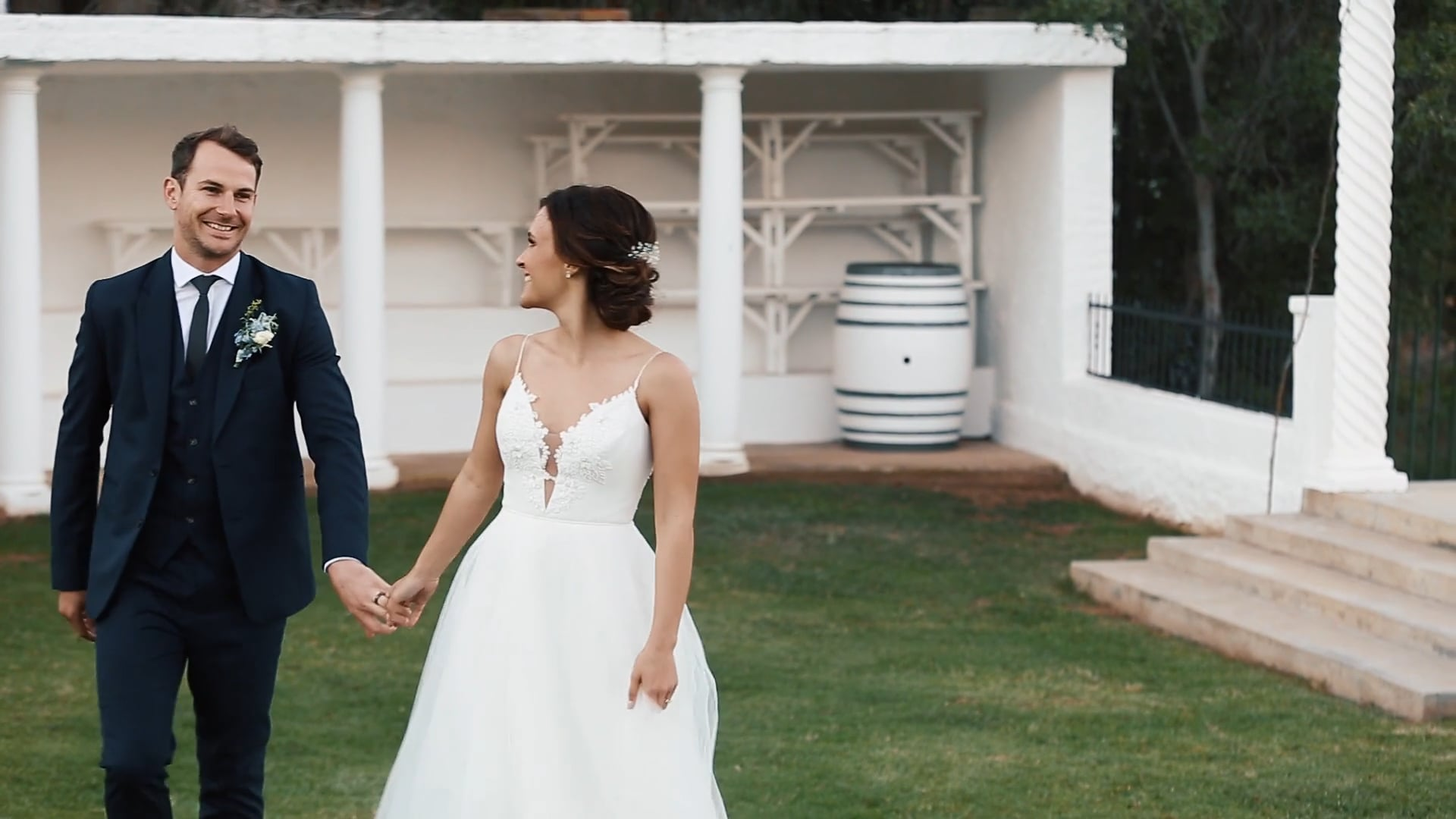 Dirk and Jenny wedding preview, Duvon Robertson - 20 October 2018