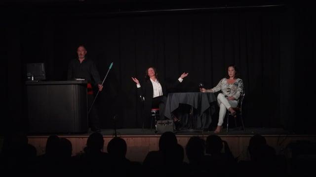Reportage : Les coulisses du spectacle Fabula & musica  (Zone 22 octobre 2018 p.03)