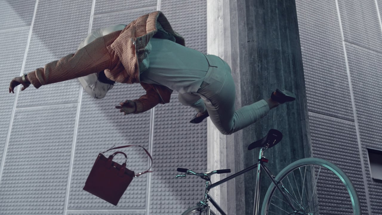 Airbag For Urban Cyclists