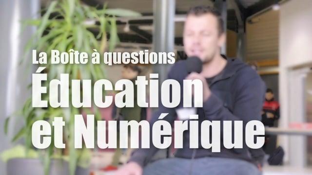 Éducation & Numérique - La Boîte à Questions