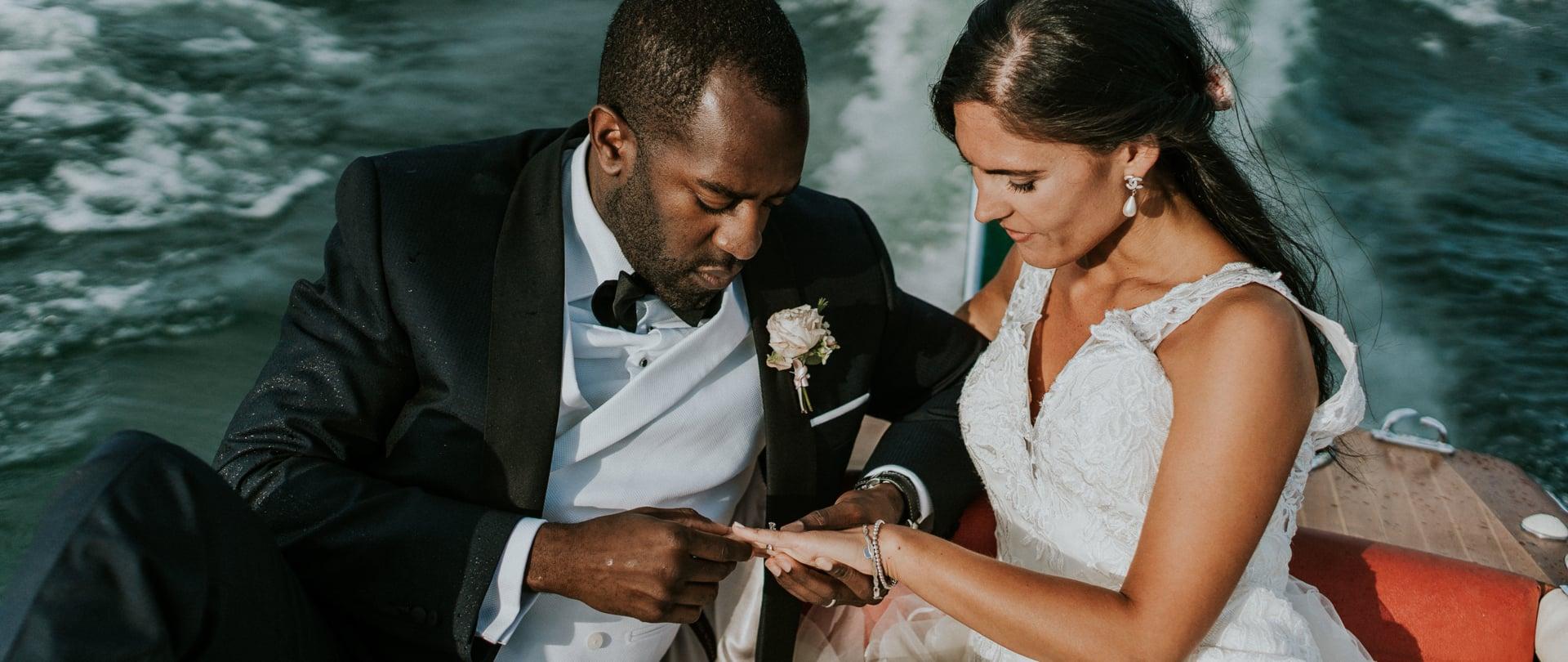 Serena & Ogo Wedding Video Filmed at Stresa, Italy