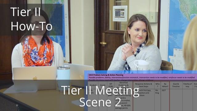 Tier II Meeting Scene 2