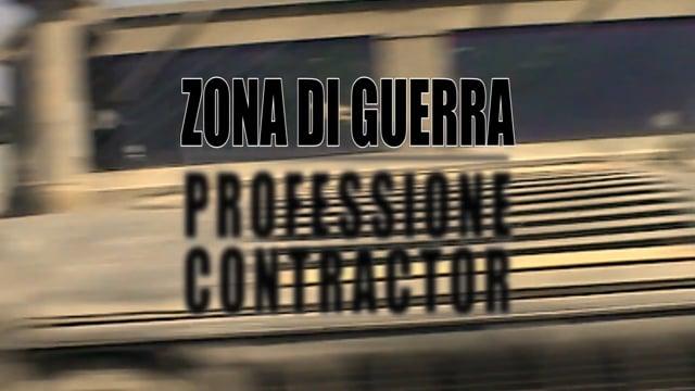 Zona di guerra Professione Contractor