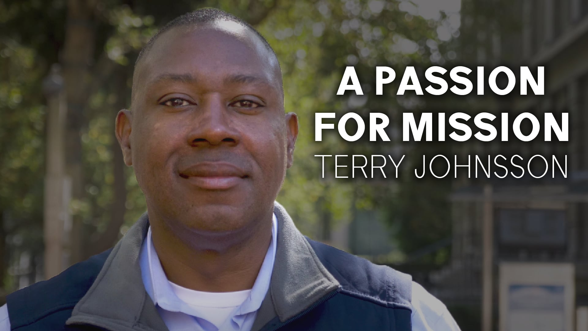 A Passion for Mission - Terry Johnsson