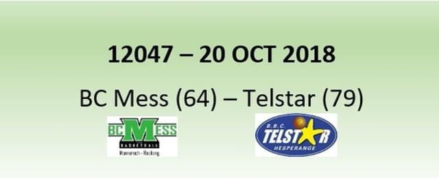 N2H 12047 BC Mess (64) - Telstar Hesperange (79) 20/10/2018