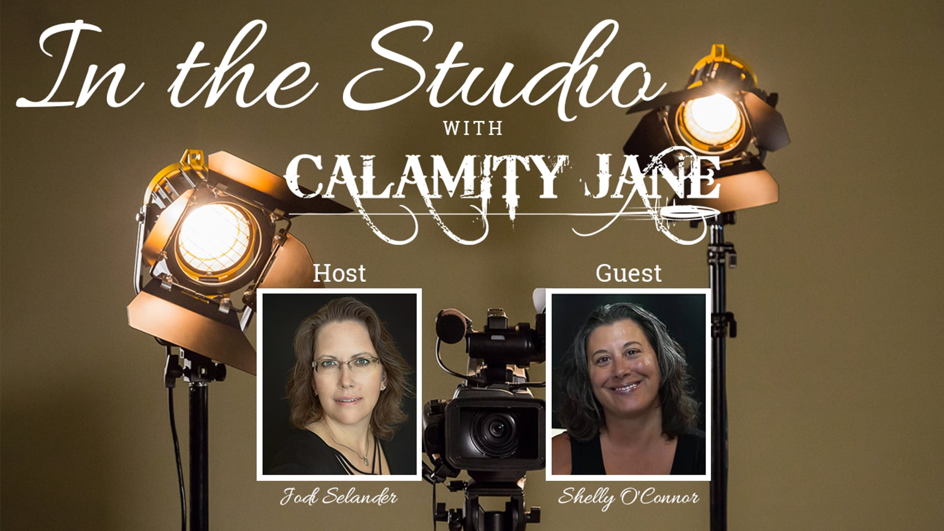 S1:E20 - Shelly O'Connor is In The Studio with Calamity Jane.