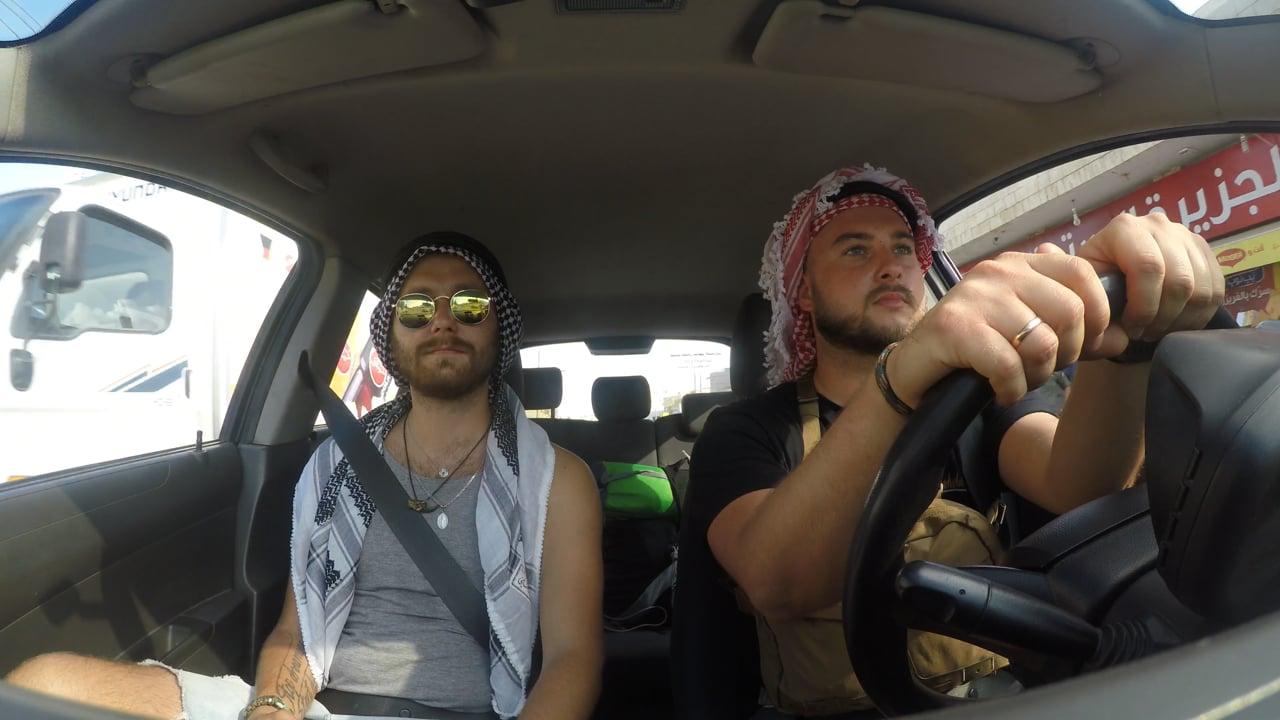 Driving a car in Jordan #arabicsoundstory