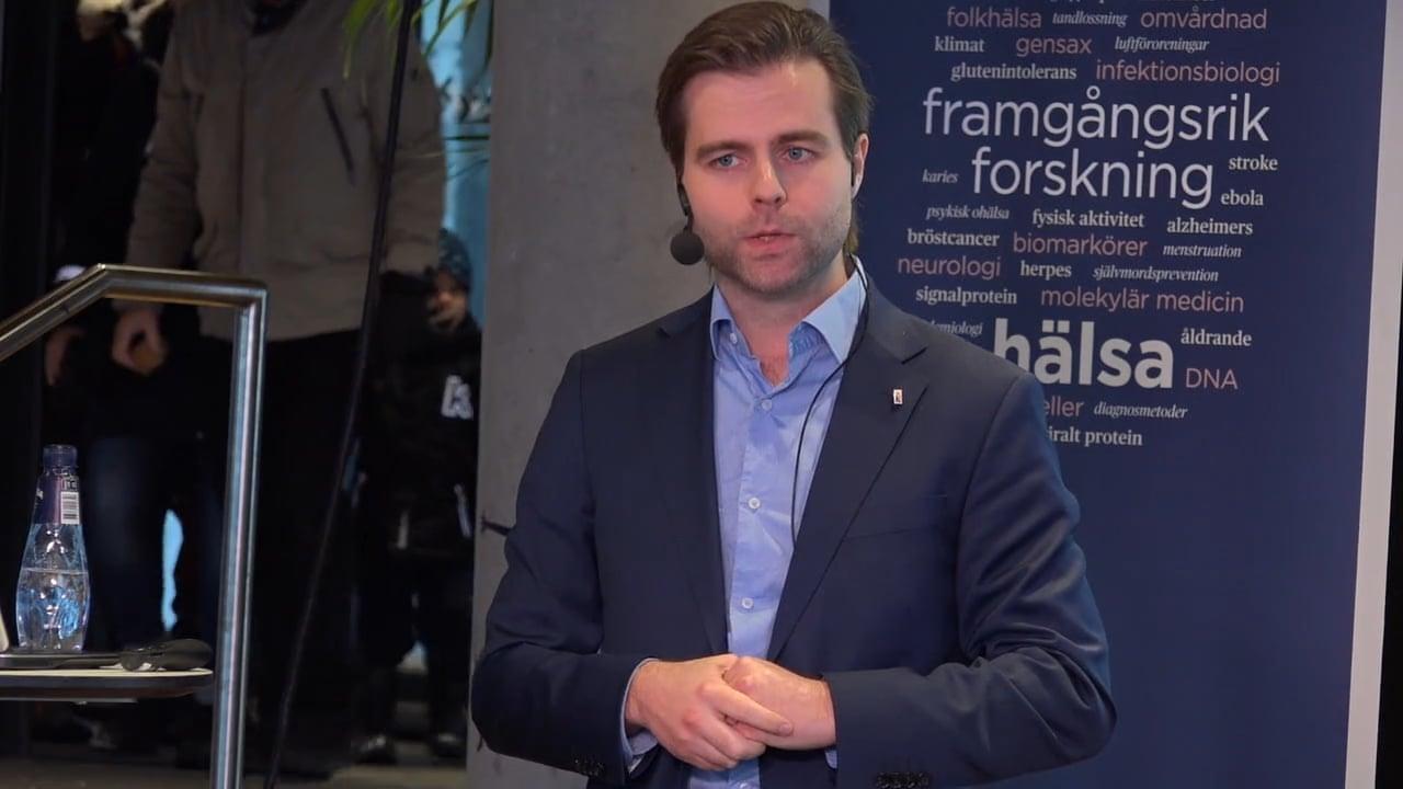 Film: Gustav Andersson: Hur vatten kan avslöja nervskador