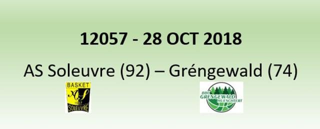 N2H 12057 AS Soleuvre (92) - Gréngewald Hueschtert (74) 28/10/2018