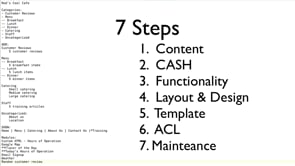 Planning a Joomla Website