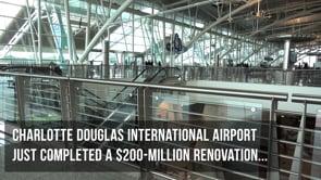 Charlotte Airport LED Display Integration