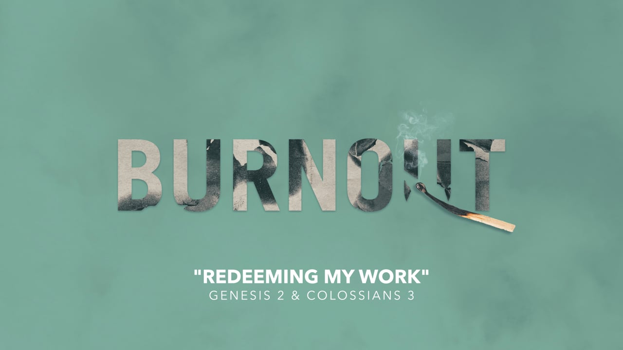 Redeeming My Work [Parry Sound]