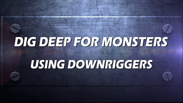 Using Scotty Downriggers to Catch Monsters