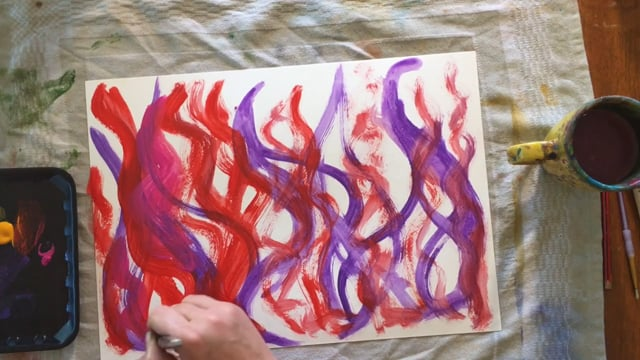 Elements FMS #7 Painting the Background