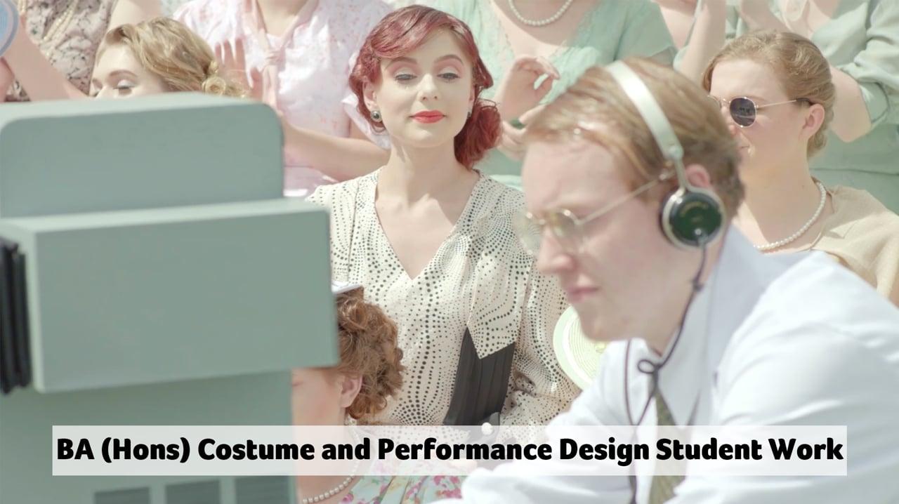 AUB - BA Costume and Performance Design - Montage