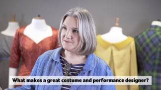 AUB BA (Hons) Costume and Performance Design Course video