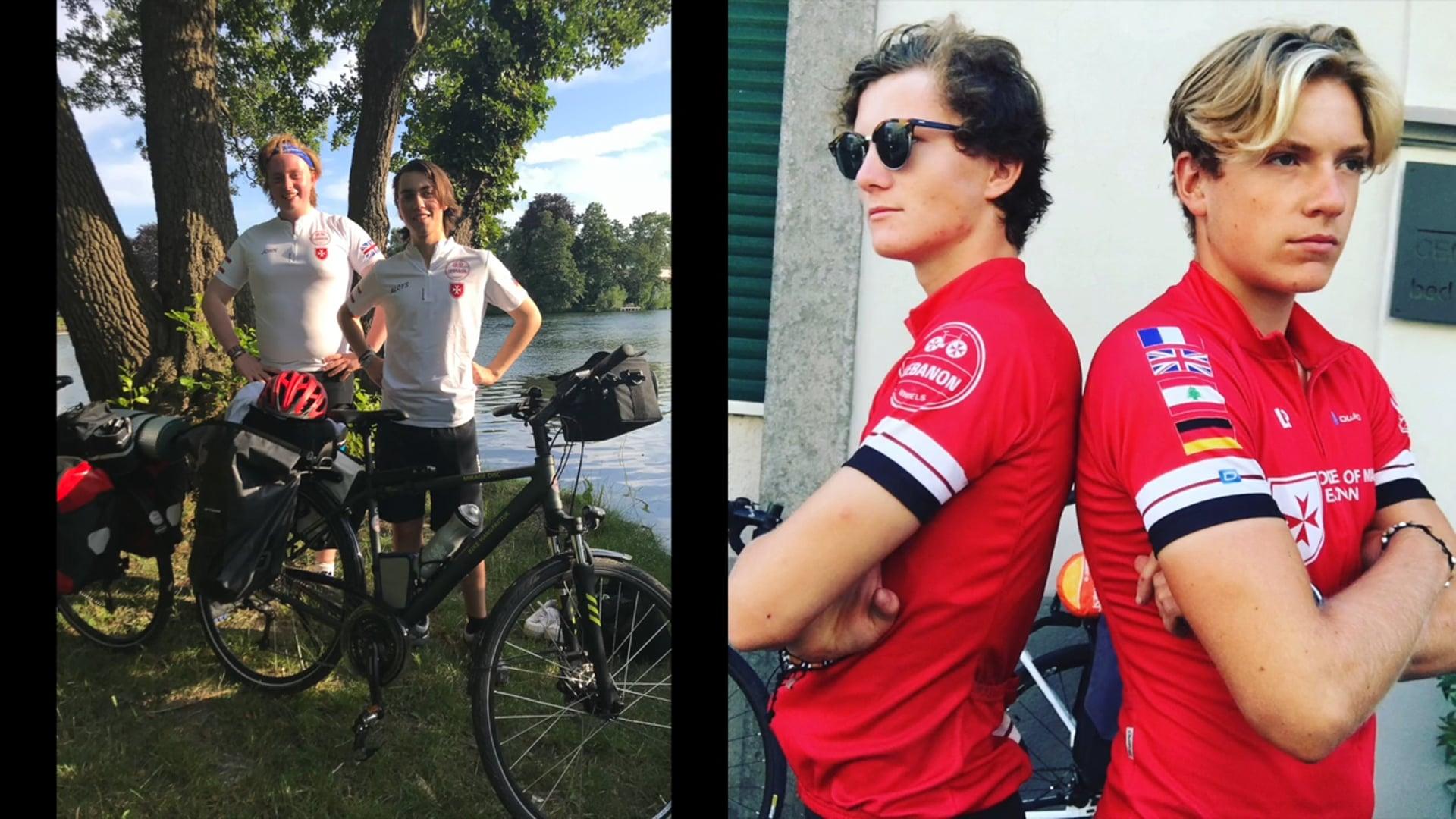 Lebanon on Wheels 2018 | Aloys & John, Antoine & Luke
