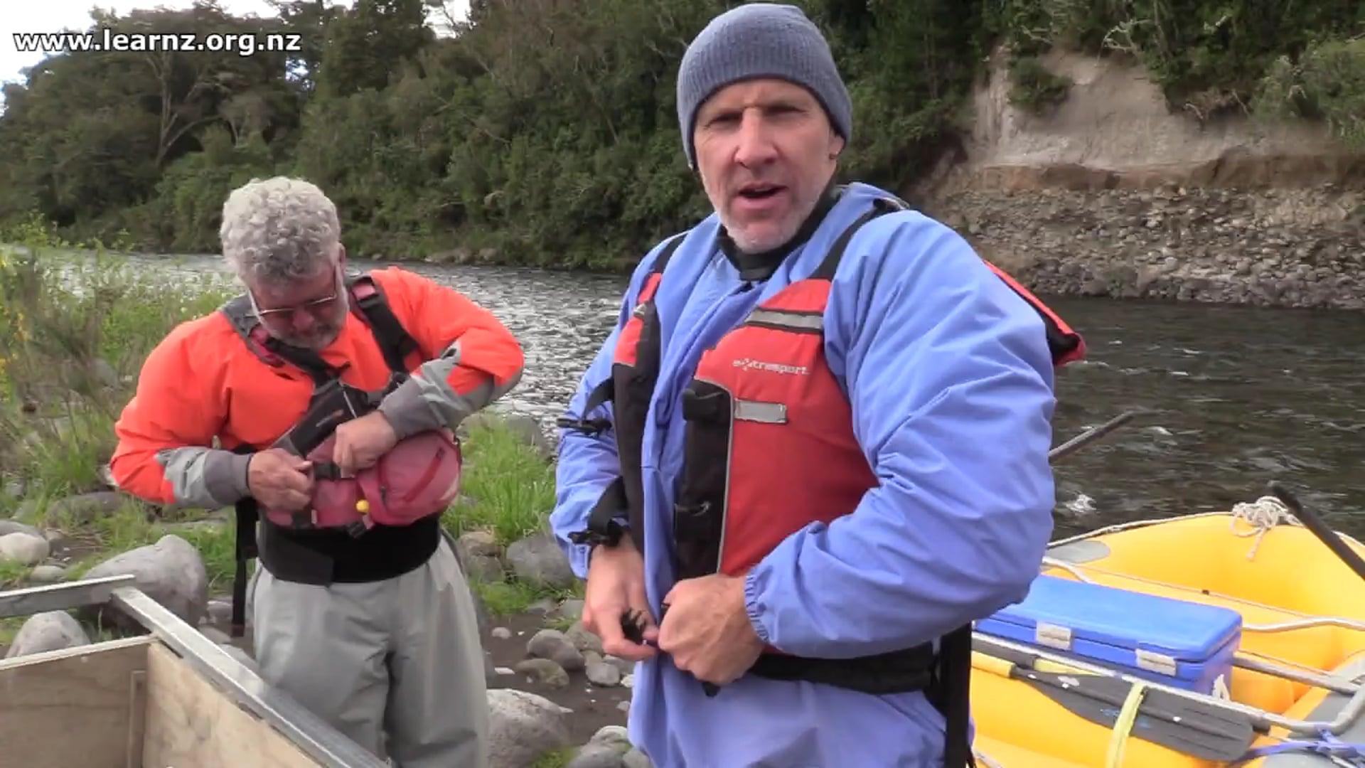 Rafting on the Tongariro