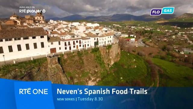 Neven's Spanish Food Trails  series 2 RTE Promo