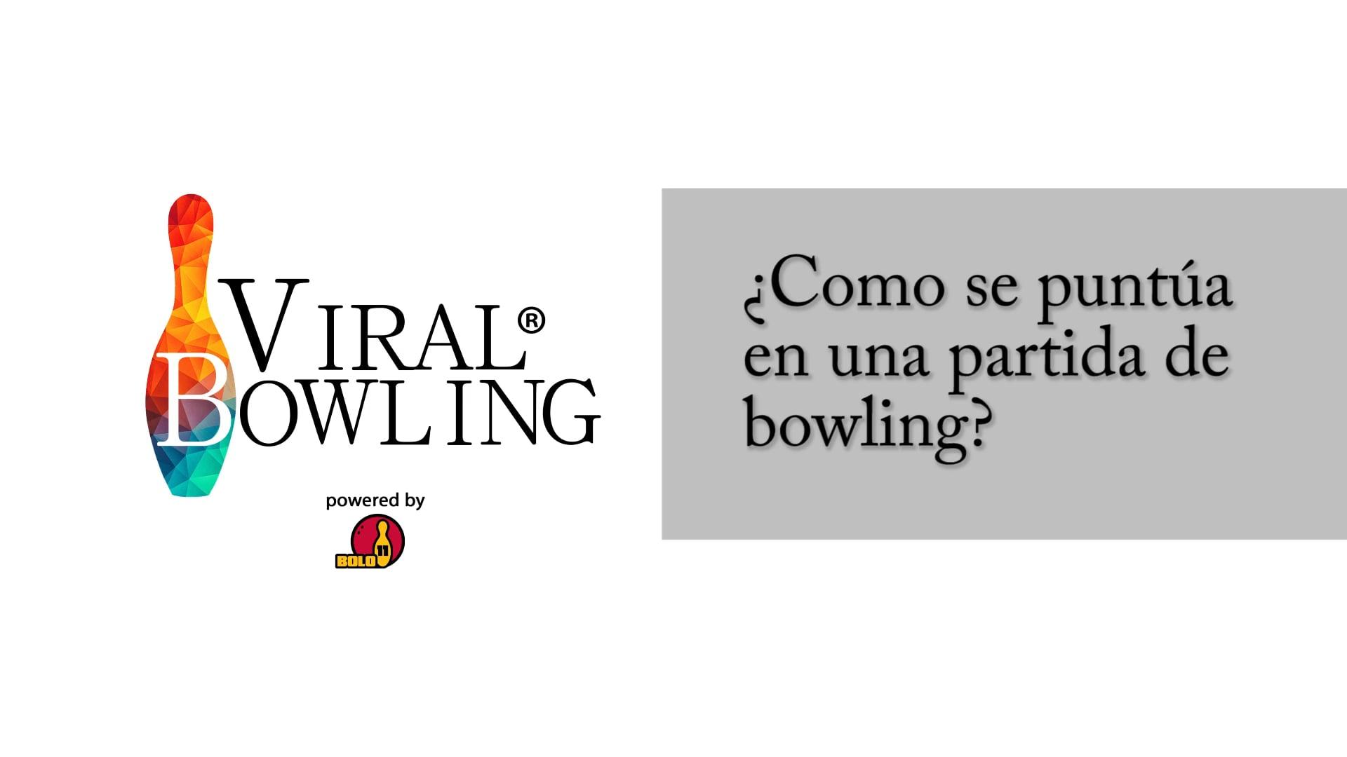 #ViralBowling: Cómo se puntúa en el bowling