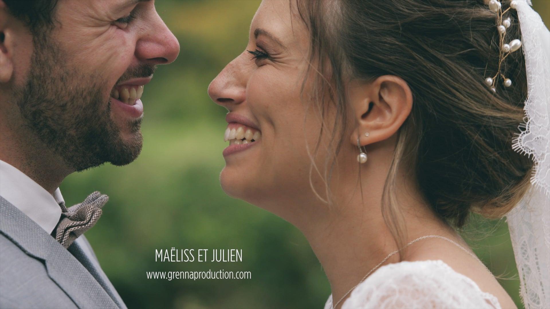 Film mariage Maëliss et Julien