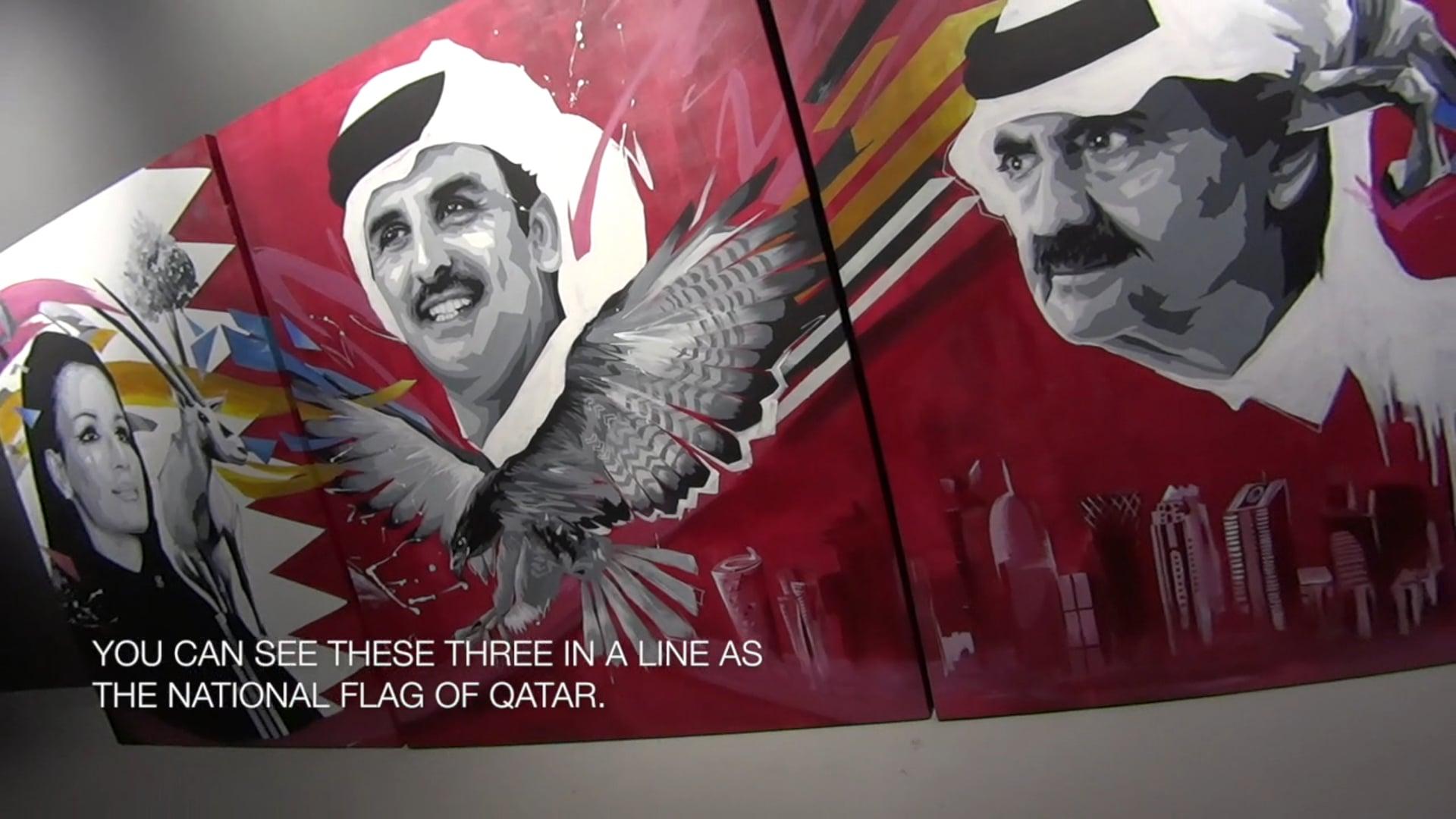 Work introduction : AYUMI ENDO Exhibition 2018 in QATAR