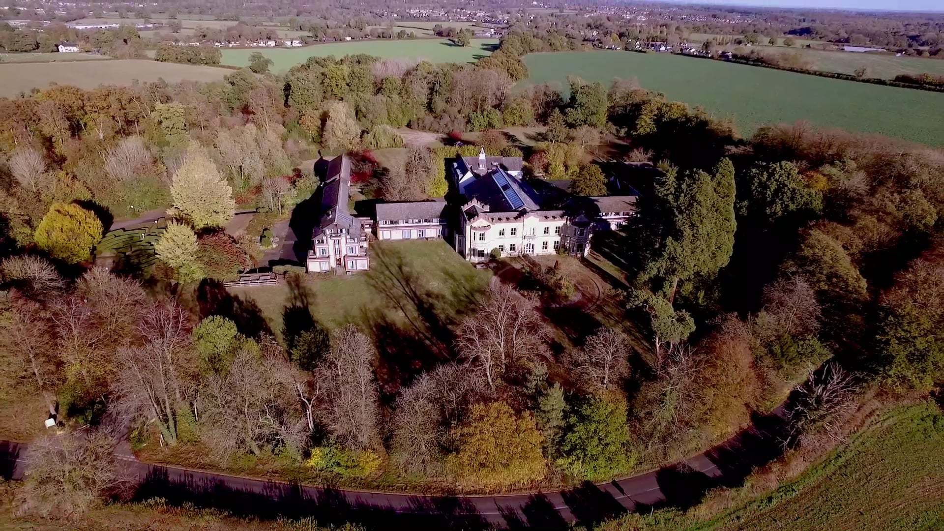 Uplands drone video