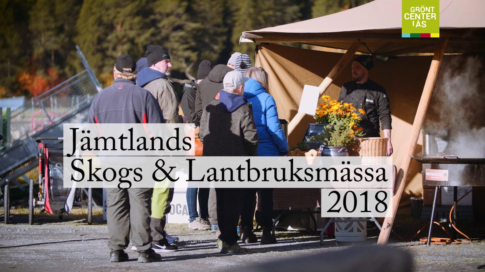Grönt Center - Jämtlands skogs & lantbruksmässa 2018 - kort version - textad