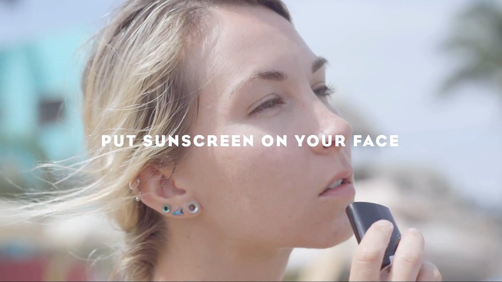 SPF 30 Face Stick: 6 Sec Ad Spot