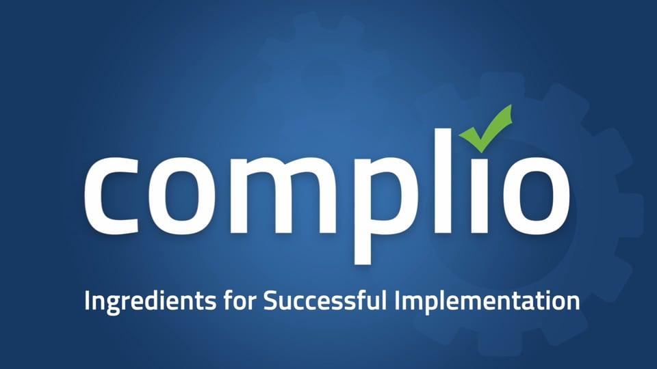 Complio High Level Benefits with Monica