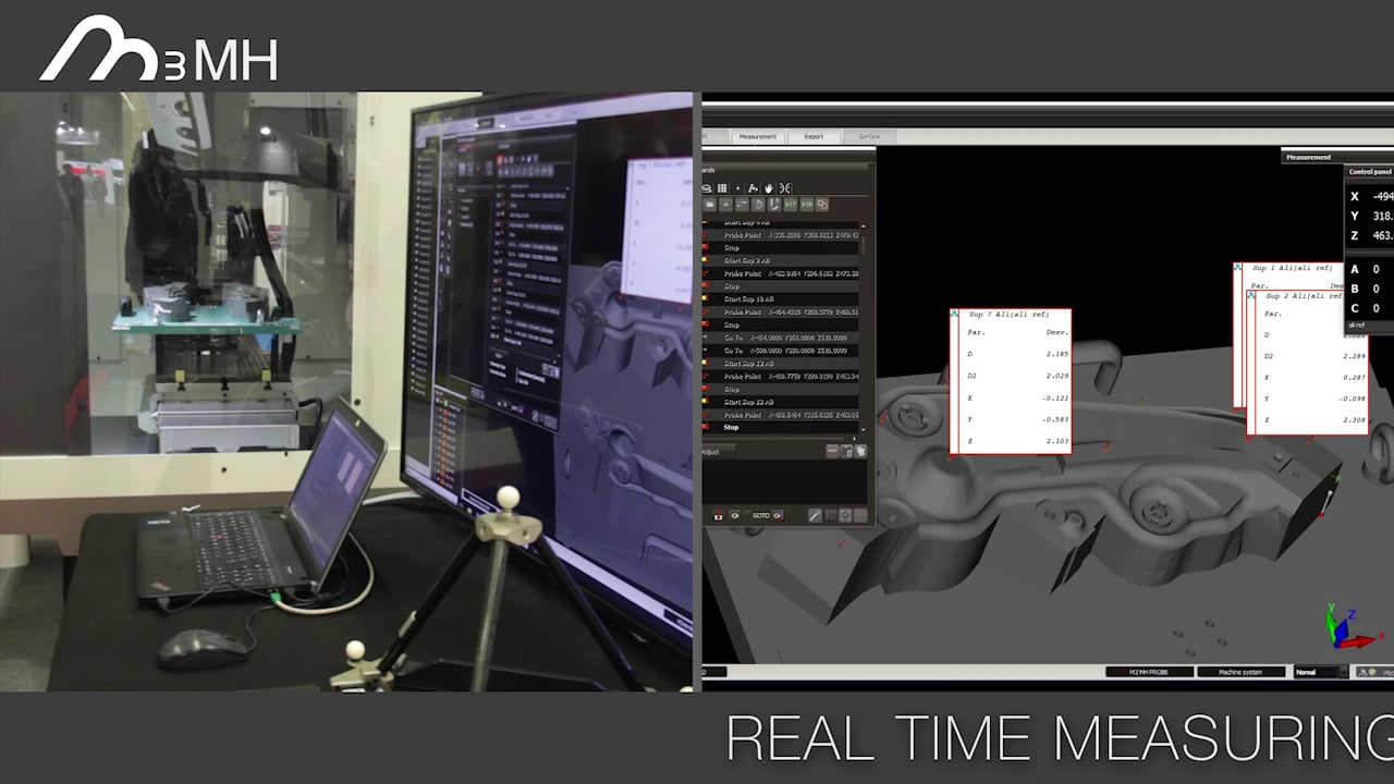 M3MH: Complete Measurement Software for Machine Tools