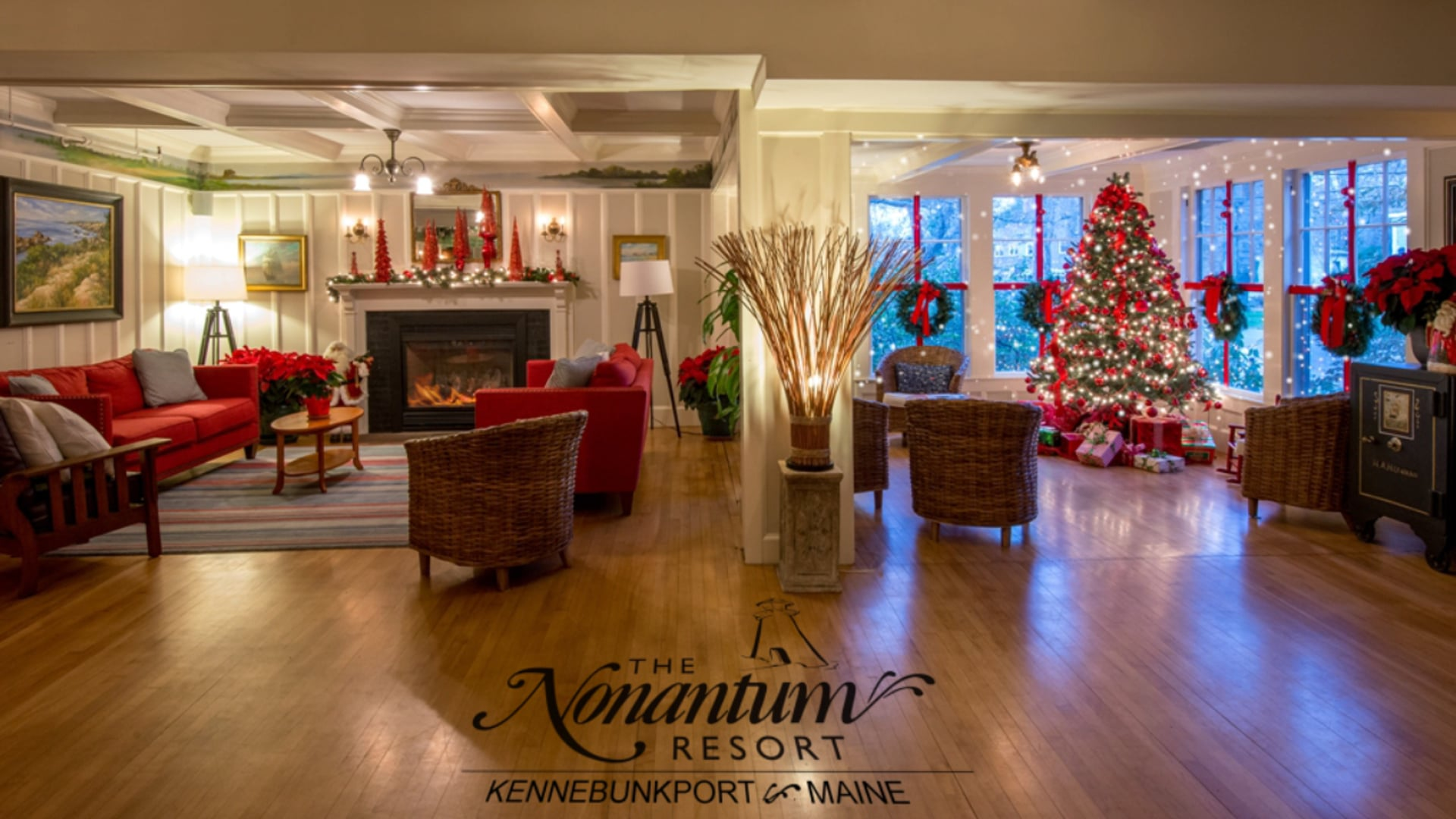 Facebook Ad - Nonantum Resort Dinner - Snow Room teaser